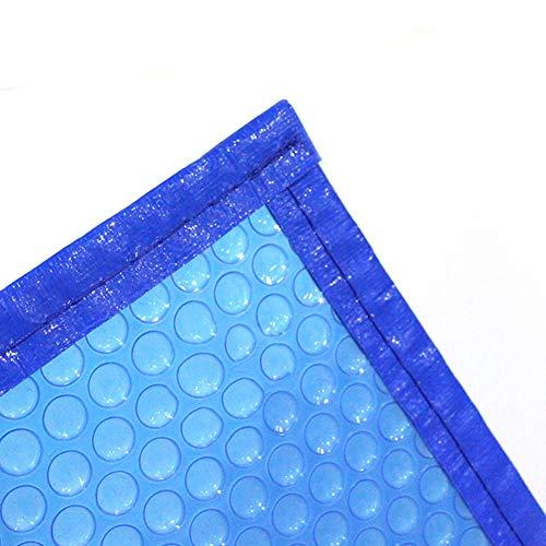 Couverture Solaire Bleue Rectangulaire pour Piscines Creusées, Couverture de Piscine Anti-poussière, Étanche À la Pluie, Durable et Léger (Size : 6.5x2.5m(21.3x8.2ft))