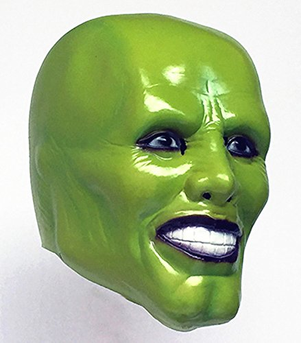 Gmasking Creepy Jim Carrey Latex Mask for Costume Party