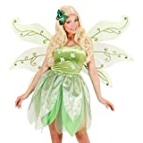 NET TOYS Riesen Feenflügel grün Schmetterlingsflügel 106 x 72 cm Elfenflügel Fee Flügel für Erwachsene Elfen Schmetterling Morgana