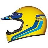 Nexx X.G200 XG200 Desert Race Yellow Full Face Off Road Motorcycle...