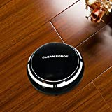 Smart Robot Aspirateur Balayeuse Automatique Balai Machine Rechargeable Auto Sweeper Floor Cleaner, Fonctionne sur Sol Dur à Tapis