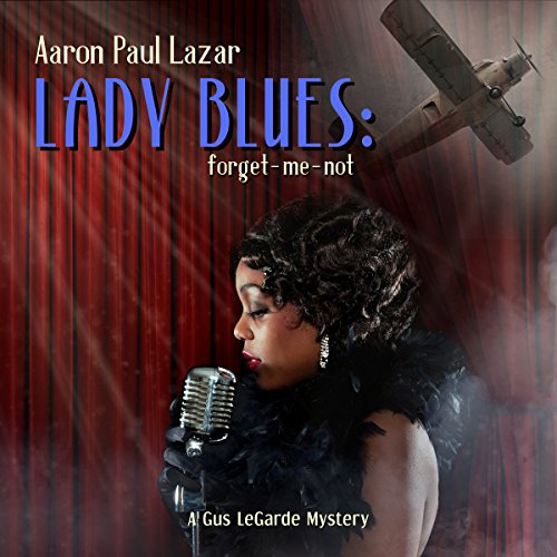 Lady Blues: forget-me-not audiobook cover art