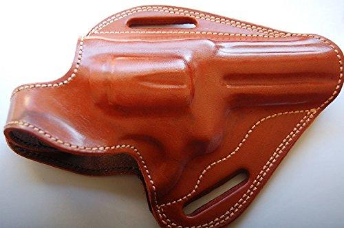 cal38 Handcrafted Leather Belt Holster for Ruger Redhawk 4.4.20 inch Barrel (R.H) TAN