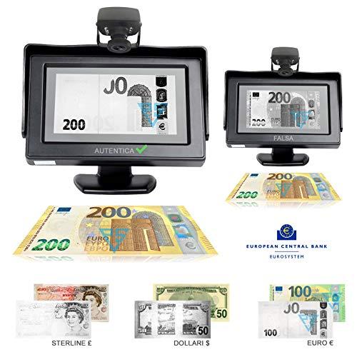 'Real Vision 4.3Geldscheinprüfer Money Vision Infrared nicht erforderlich upgrade