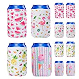 WERNNSAI Puede Refrigerador Manga - Juego de 12 Neopreno Enfriador de latas Cerveza...