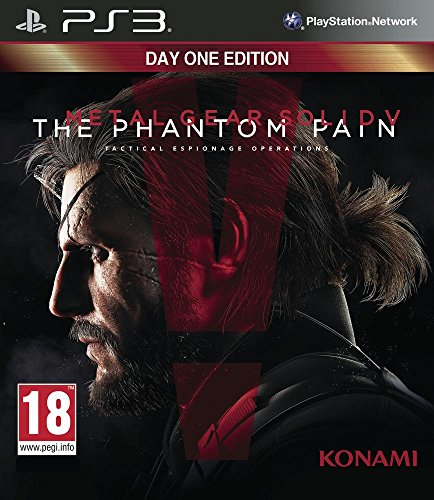 Metal Gear Solid V : The Phantom Pain - édition day one - PlayStation 3 [Importación francesa]