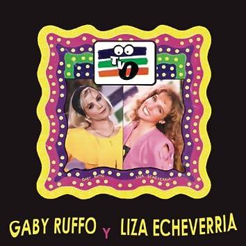 Gaby Ruffo y Liza Echeverría