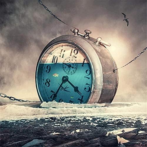HJHJHJ Rompecabezas de 2000 Piezas-Reloj Enorme Rompecabezas para Adultos y Adolescentes Rompecabezas 2000 Piezas 100x70cm