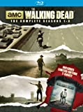 walking dead 3rd season - The Walking Dead SSN 1-3 with Limited Edition T-Shirt [Blu-ray]