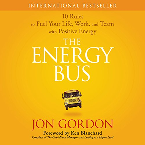 The Energy Bus audiobook cover art