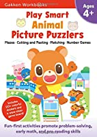 Play Smart Animal Picture Puzzlers Age 4+: At-home Activity Workbook (20)