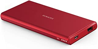 ROMOSS 5000 Portable Charger, Ultra Slim 5000mAh External Battery with High-Speed Charging Technology, designed for Smartp...