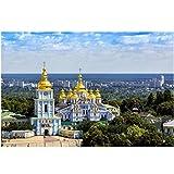 FGVB Panorama von Kiew St. Michaels Kathedrale Ukraine