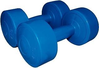 Sveltus halters cement 4 kg (paar) volwassenen, unisex, blauw, XL, één maat