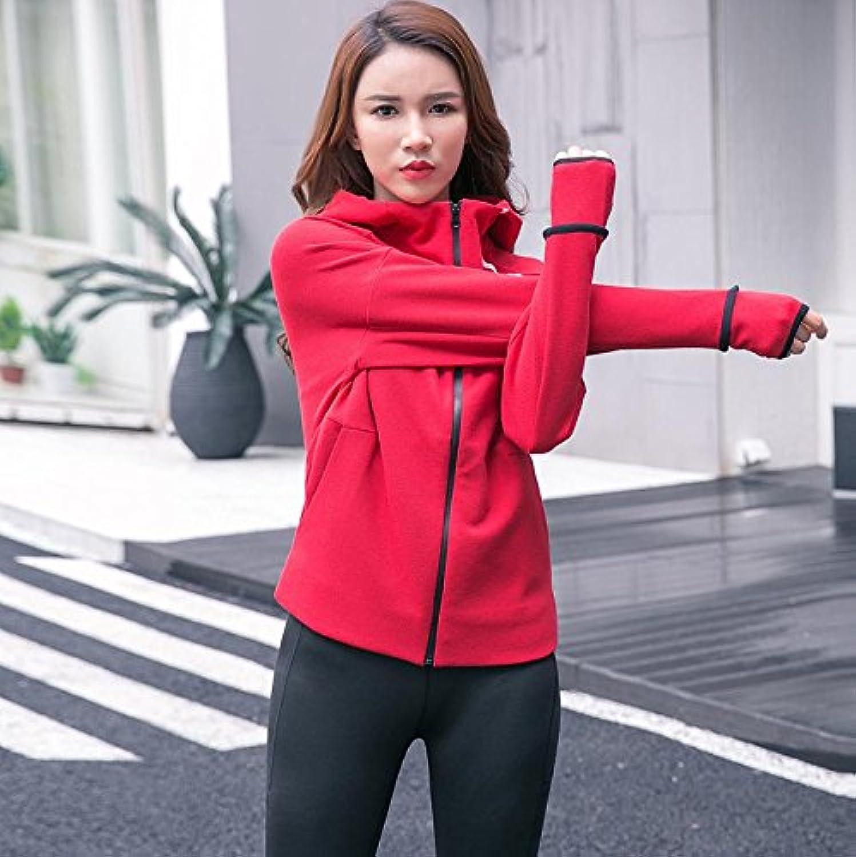 Jolie PU&PU Damen Yoga Anzug Fitness Outwear  Hosen Leggings Set Fitness Workout Sportbekleidung B0788QH8NB  Sport entzündet das Leben