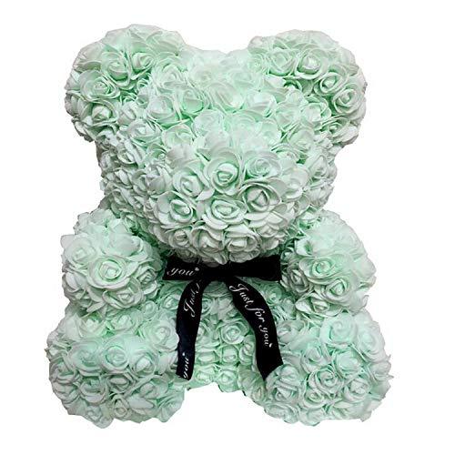 Roses Bear Limit 100 Rose Flower Bear für Valentinstag Freundin Geschenk große riesige 40 / 25CM-40cm-,