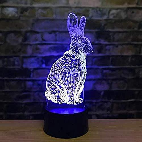 3D nachtlampje sterrenbeeld muis tijger konijntje draak slang paard schapaap kip varken kerstcadeau Halloween