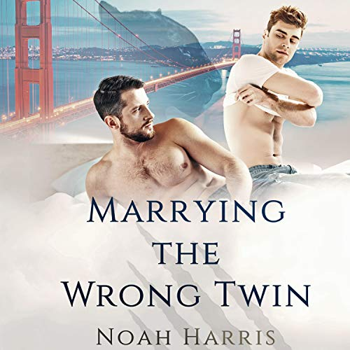 Marrying the Wrong Twin audiobook cover art