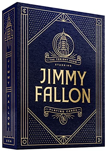 Theory Jimmy Fallon Playing Cards by THEORY11