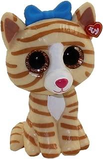 TY Beanie Boos - Mini Boo Figures Series 2 - TABITHA the Striped Cat (2 inch)