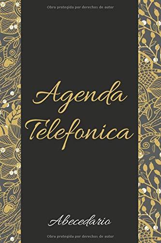 Agenda Telefonica: libreta abecedario A5 17x22, guarda tus direcciones, correos electrónicos, números de teléfono, medios sociales, cumpleaños, aniversarios y tus contraseñas de regalo originales.