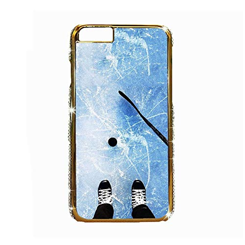 Have with Hockey 5 Protect Hard Abs Case Compatible with iPhone 6 Man Choose Design 126-3