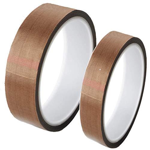 Teflonband, Hochtemperaturband, PTFE Glasgewebeband High Temp Klebeband Hitzebeständig Selbstklebend Versiegelung Heißsiegelung, Isolierung Von Hochtemperaturbeständigem