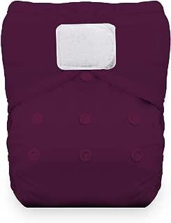 Thirsties Reusable Cloth Diaper, One Size Pocket Diaper, Hook & Loop Closure, Sugar Plum