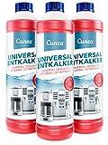 Cunea Entkalker für Kaffeemaschine & Kaffeevollautomat Wasserkocher 3x 750ml - kompatibel mit allen Herstellern und Geräten