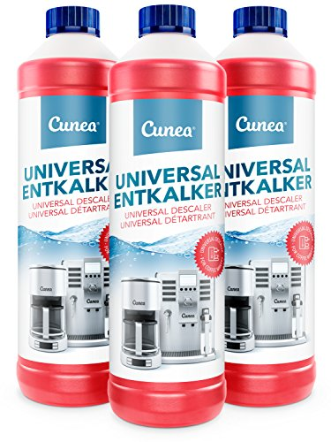 Entkalker für Kaffeevollautomat & Kaffeemaschine - 3x 750ml kompatibel mit allen Herstellern und Geräten
