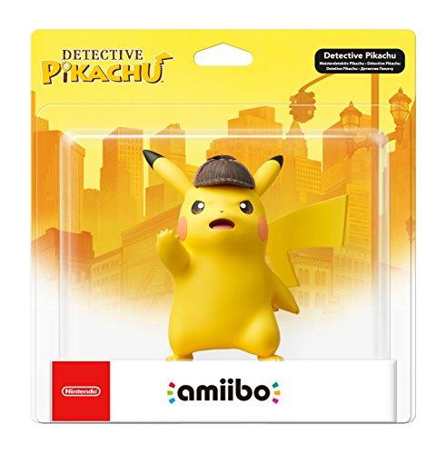Nintendo - Figura Amiibo Detective Pikachu