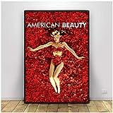 DOAQTE American Beauty Poster Home Decor Leinwand Wandkunst