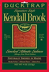 Ducktrap, Kendall Brook, Smoked Atlantic Salmon, Pre-sliced, 4 oz