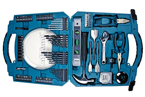 Makita Werkzeug-Bohrer-Bit-Set im Koffer D-42042, 103-tlg