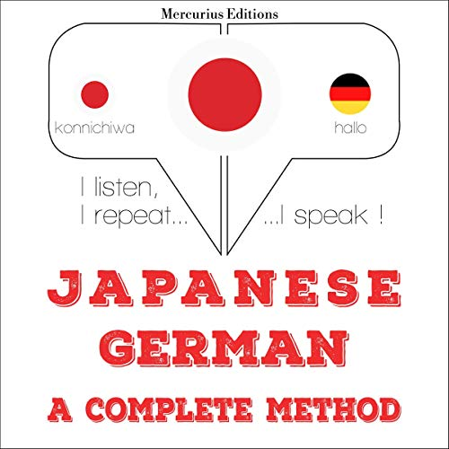Japanese - German. a complete method cover art