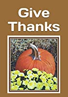 Give Thanks: An extra-large print senior reader book of Thanksgiving Day and Autumn classic poetry and other readings - plus coloring pages