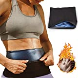 Nigecue Waist Trimmer for Women Weight Loss, Waist Trainer Sauna Sweat Workout Shaper, Neoprene-Free Waist Cincher, Sauna Slimming Belt (2XL)