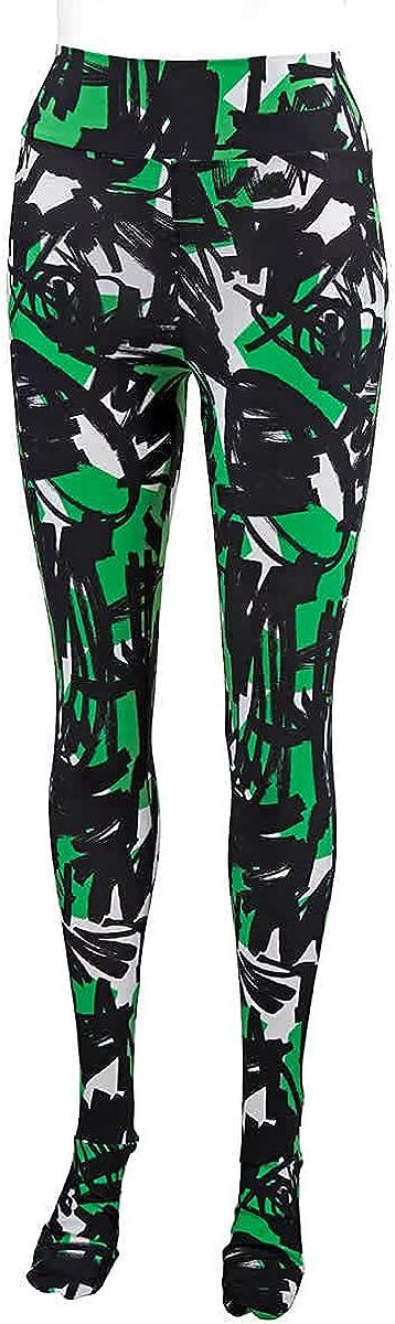 Burberry Ladies Graffiti Print Leggings, Brand Size Medium