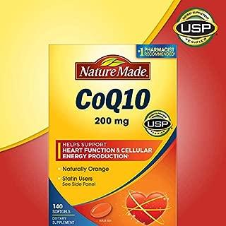 Nature Made 莱萃美 辅酶Q10软胶囊200mg 140粒