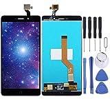 Zhangl Reparación de Repuesto Pantalla LCD y Montaje Completo digitalizador for Elephone P9000 Reparación de Repuesto (Color : Black)