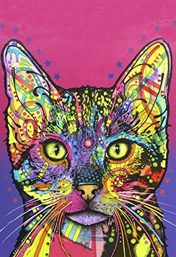 Enjoy it Cat Puzzle Featuring Pop Art of Dean Russo - 300 Piece Jigsaw Puzzle for Kids & Adults