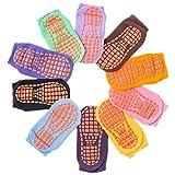 10 Pairs Non Slip Socks for...