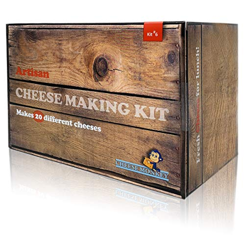 Cheese Making Kit - make more than 25 different Artisan...