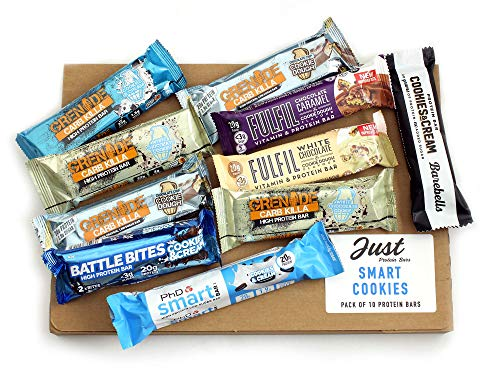 Smart Cookies - Selection of The Most Loved Protein Bars from; Grenade, PhD, Barebells, Fulfil & Battle Bites