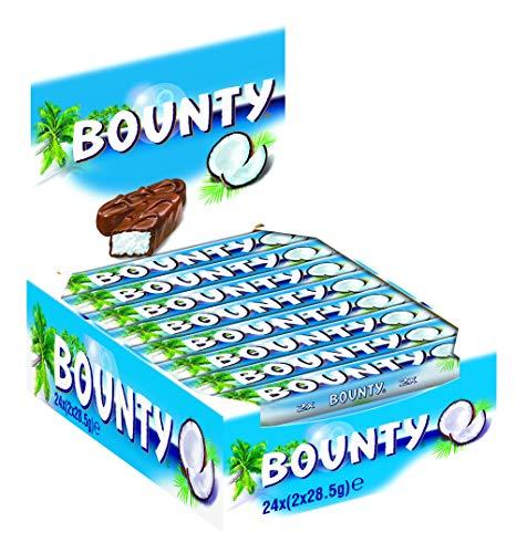 Bounty Vollmilch, 24er Pack (24 x 57 g)