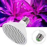 VIFERR Wachsen Lampe, 24W 200-LED Anlage Wachsen Licht E27 Hydroponischen Blume Veg Wachsende Lampen 85~265V