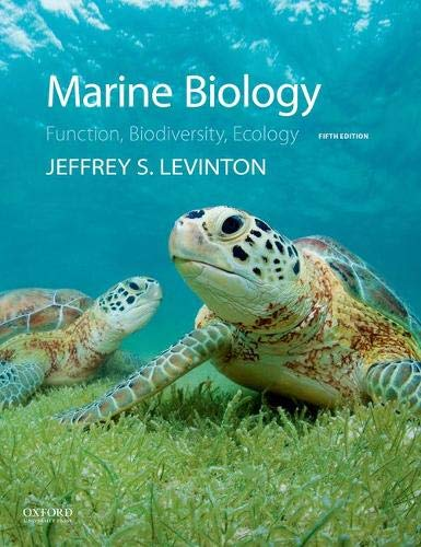 Marine Biology: Function, Biodiversity, Ecology (5th Edition)