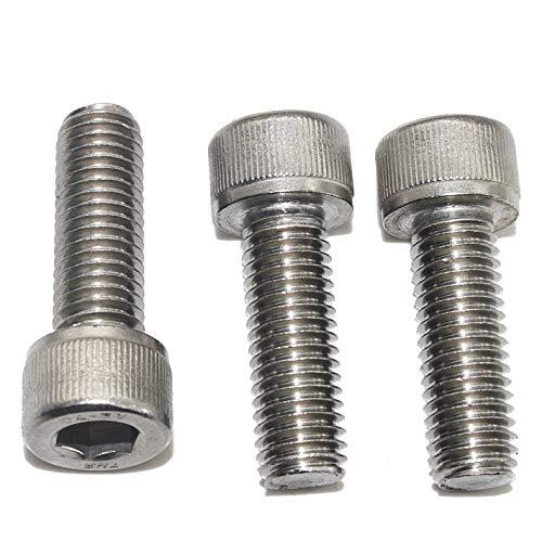 Zylinderschrauben mit Innensechskant M3 x 16 mm (100 Stück) - ISO 4762 - DIN 912Edelstahl A2 V2A- rostfrei