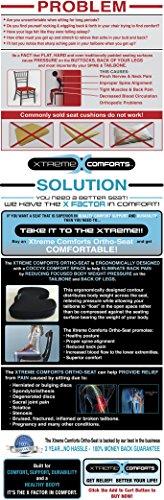 Xtreme Comforts Coccyx Seat Cushion...