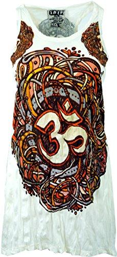 Guru-Shop Sure Top, Longshirt, Minikleid, Damen, OM, Baumwolle, Size:S (36), Kurze Kleider Alternative Bekleidung